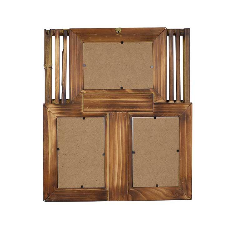 3'lü 10x15 Bambu Duvar Fotoğraf Çerçevesi