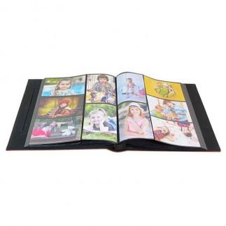 NobbyStar Hediye - 500'lük Pencereli 10x15 Deri Fotoğraf Albümü (1)