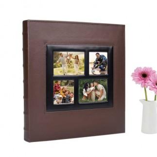 500'lük Pencereli 10x15 Deri Fotoğraf Albümü - Thumbnail