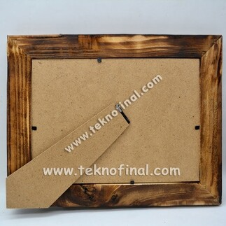 NobbyStar - Ahşap Bambu 13x18cm. Fotoğraf Çerçevesi (1)
