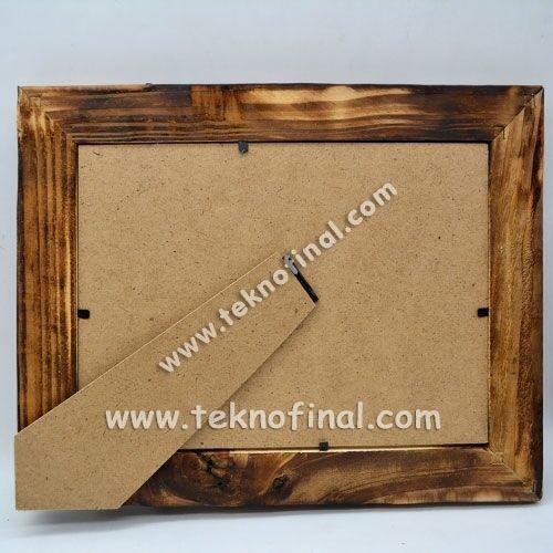 Ahşap Bambu 13x18cm. Fotoğraf Çerçevesi