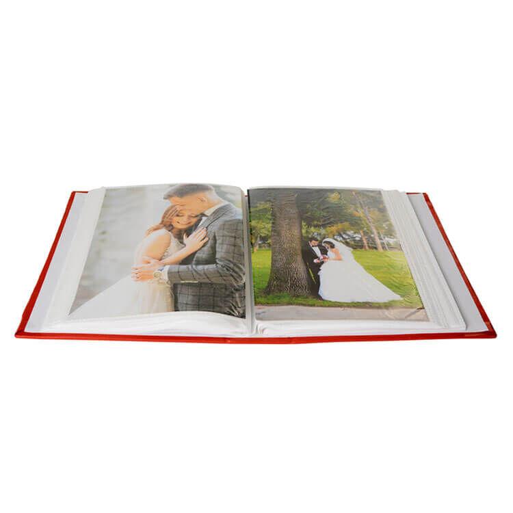 100'lük Pencereli 13x18 Deri Fotoğraf Albümü