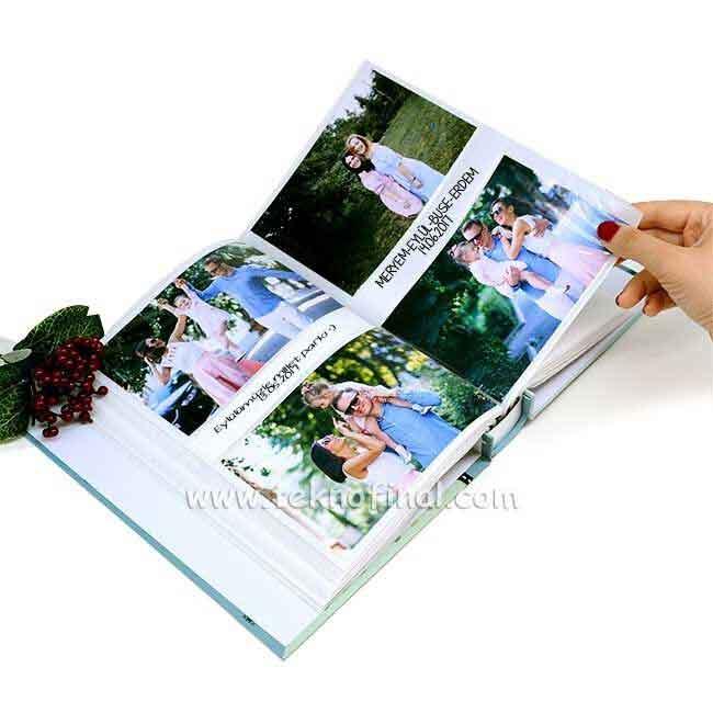 200'lük Kutulu Fotoğraf Albümü (10x15)