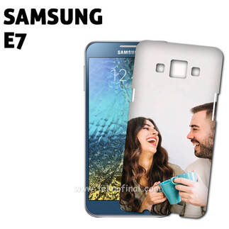 3D Samsung E7 Parlak Telefon Kapağı - Thumbnail