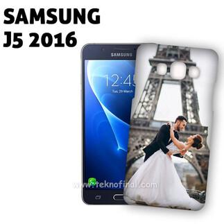 SAMSUNG - 3D Samsung J5 2016 Telefon Kapağı