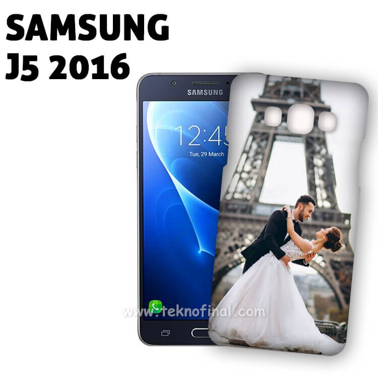 3D Samsung J5 2016 Telefon Kılıf Kapağı