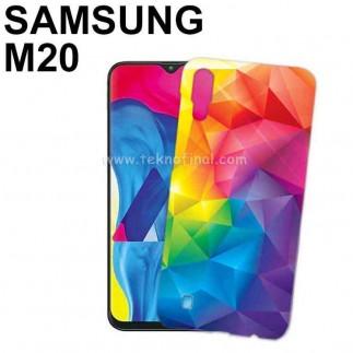 3D Samsung M20 Telefon Kapağı ( Mat ) - Thumbnail