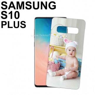 3D Samsung S10 Plus Telefon Kapağı ( Mat ) - Thumbnail