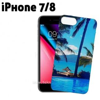 3D Sublimasyon iPhone 7/8 Telefon Kılıfı - Thumbnail