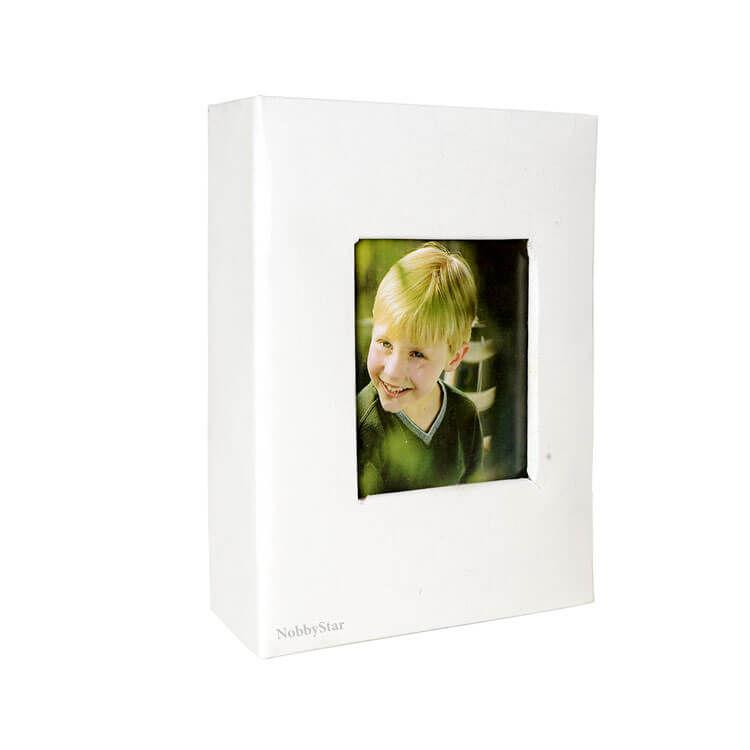 46100 Deri 100'lük 10x15cm. Pencereli Fotoğraf Albümü