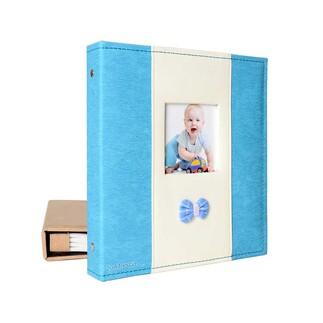 46200 200'lük 10x15cm. Pencereli Deri Memory Fotoğraf Albümü - Thumbnail