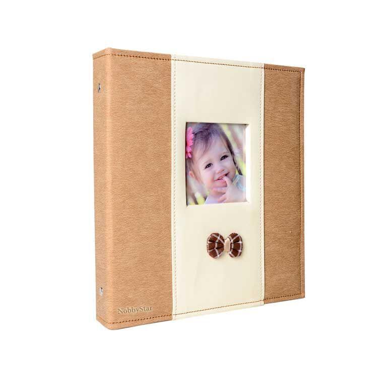 46200 200'lük 10x15cm. Pencereli Deri Memory Fotoğraf Albümü