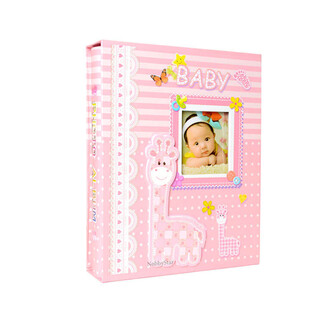 NobbyStar - 46200 200'lük 10x15cm. Kutulu Bebek Fotoğraf Albümü (1)