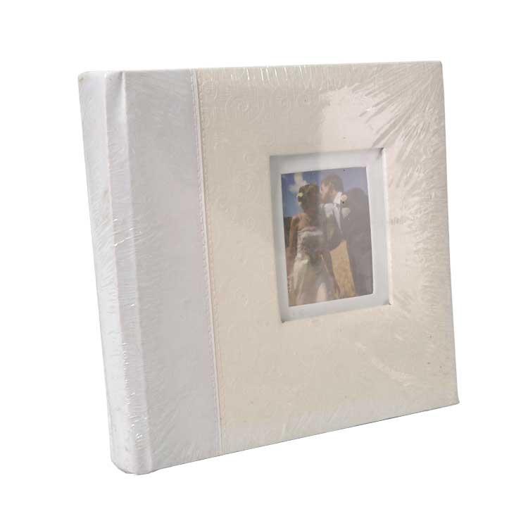 46200 Deri 200'lük 10x15cm. Pencereli Memory Fotoğraf Albümü