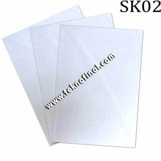 A4 BestColor Açık Zemin Pamuklu Transfer Kağıdı - Thumbnail