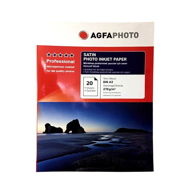 Agfa inkJet 30x40 Fotoğraf Kağıdı - A3