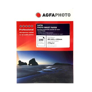 Agfa inkjet 10x15 Fotoğraf Kağıdı - 4R - Thumbnail