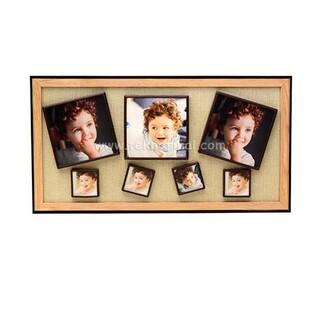 7'li Ahşap Kendinyap Fotoğraflı Magnet Çerçeve 22x42 Cm - Thumbnail