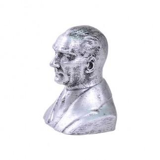 NobbyStar - Atatürk Gümüş Büst Biblo (1)