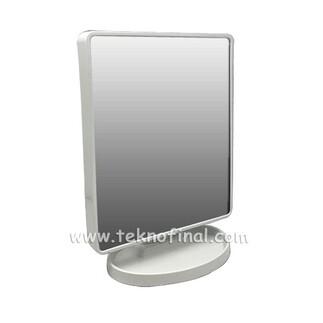Ayaklı Büyük Kare Led Sihirli Ayna Çerçeve - Thumbnail