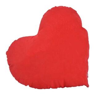 Best Hediye - Seni Seviyorum Yazılı Gri Ayıcıklı Sublimasyon Kırmızı Yastık (1)