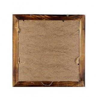 Bambu İpli Ahşap Duvar Fotoğraf Çerçevesi - Thumbnail