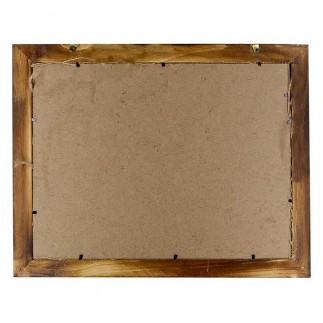 NobbyStar Hediye - Bambu Hasır İpli Ev Fotoğraf Çerçevesi 30x40 (1)