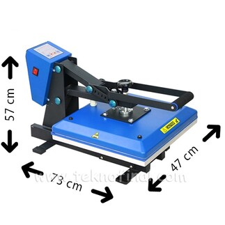 Best Transfer Makine - Düz Transfer ve Sublimasyon Baskı Pres Makinesi 38x38 (1)