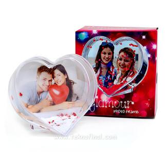 - Büyük Kalp Kar Küresi (1)