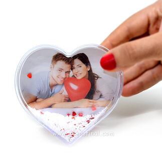 - Büyük Kalp Kar Küresi