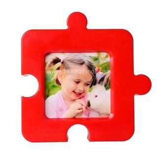 Büyük Kare Puzzle Masaüstü Ve Magnet Fotoğraf Çerçevesi - Thumbnail
