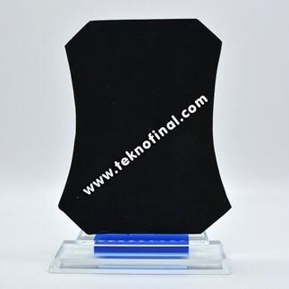 Dikdörtgen Kristal Plaket (15x18) - Thumbnail