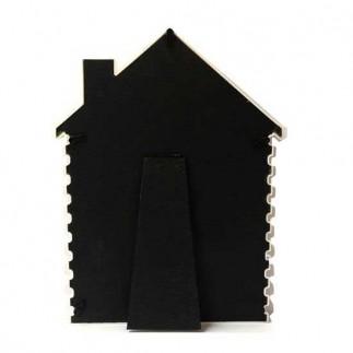 Dikey Beyaz Ev Fotoğraf Çerçevesi - Thumbnail