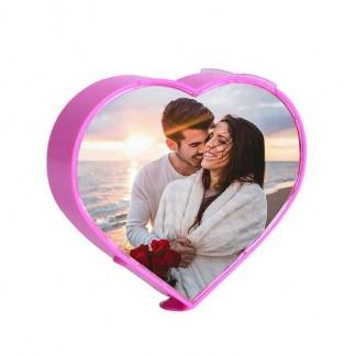 Masaüstü Dönen Kalp Fotoğraf Çerçevesi - Thumbnail