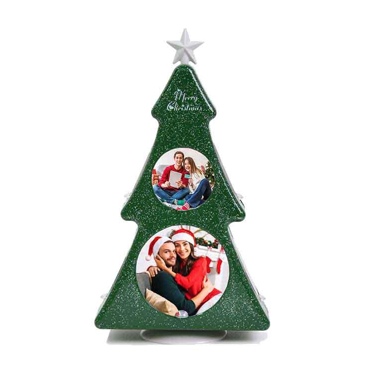 NobbyStar - Dönen Yeni Yıl Ağaç Çerçeve (1)