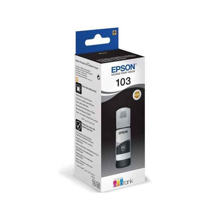 103 Epson Orjinal EcoTank Mürekkep - Tüm Seri Renkler