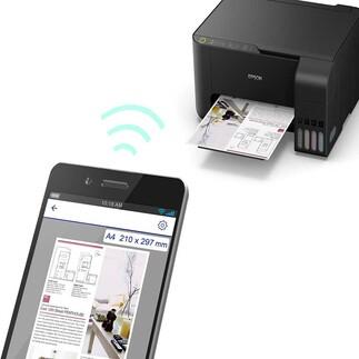 Epson - Epson L3150 Direkwifi Tarayıcı Fotokopi A4 Tanklı Fotoğraf Yazıcı (1)