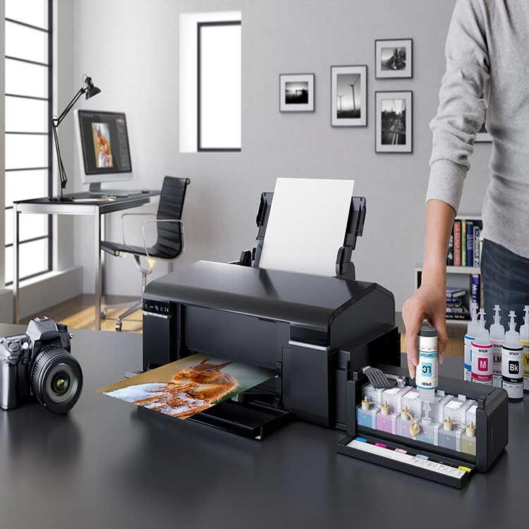 Epson L805 Mürekkep Tanklı Fotoğraf Yazıcısı