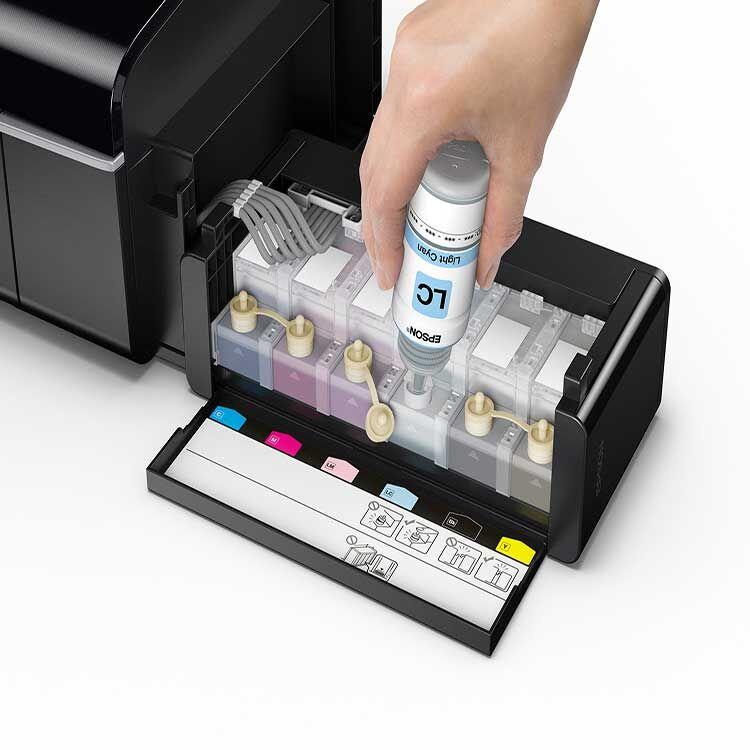 L805 A4 Epson Sublimasyon Yazıcı