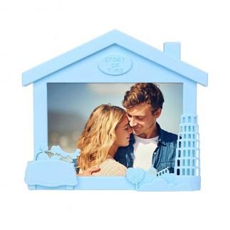 Yatay Ev Görünümlü Renkli Fotoğraf Çerçevesi - Thumbnail