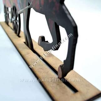 - 2'li At Arabası Çerçeve (1)