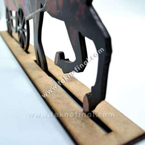2'li At Arabası Çerçeve
