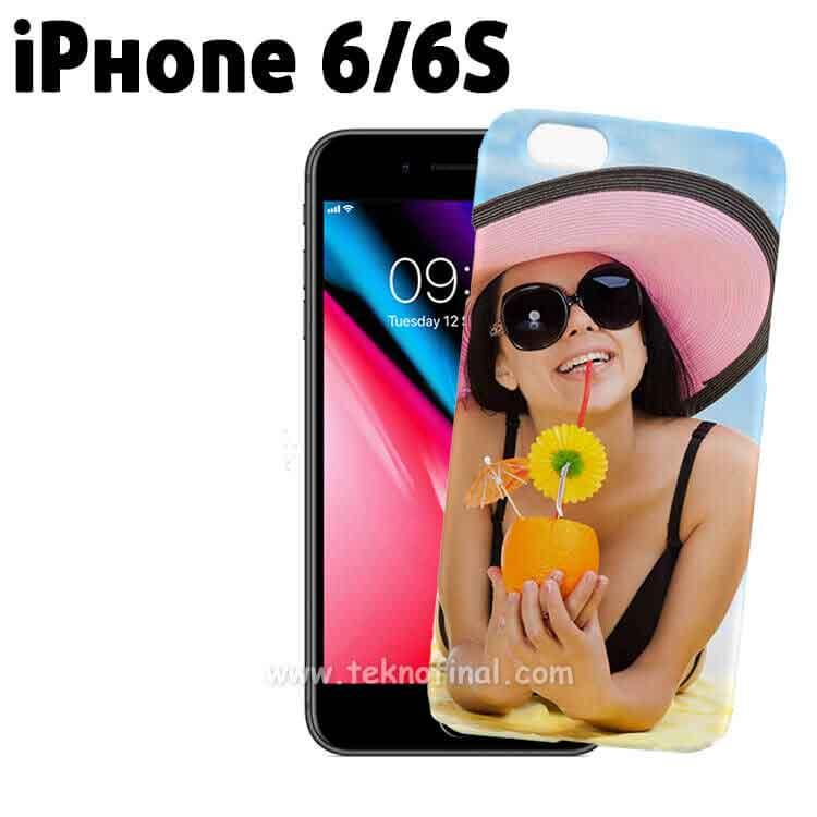 3D Sublimasyon iPhone 6/6S Telefon Kapağı