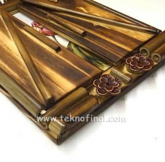 Kapaklı Bambu Fotoğraf Çerçevesi - 15x21 - Thumbnail