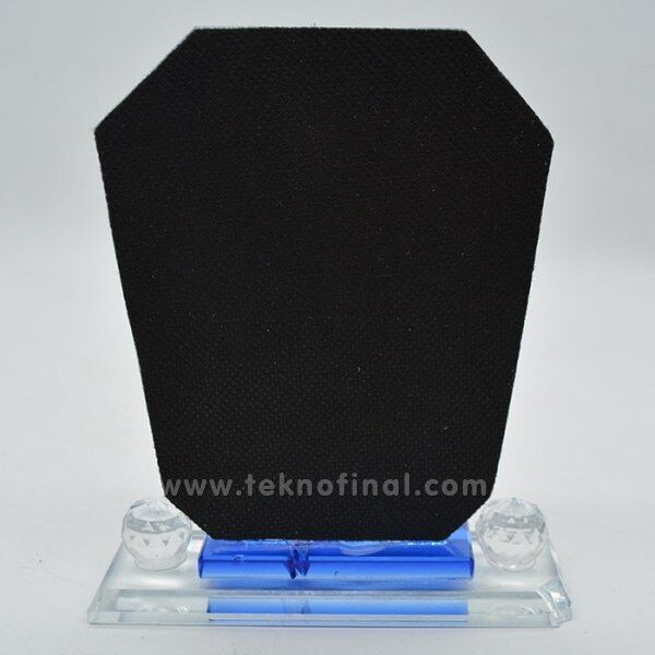 Kristal Dikdörtgen Plaket (12x14)