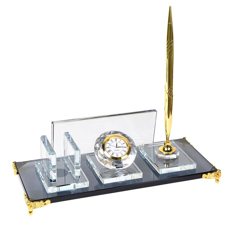 Sublimasyon Kristal Masa İsimliği - Altın