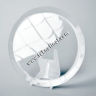 Foto Kristal - Standsız Yuvarlak Kristal (18 cm) (1)