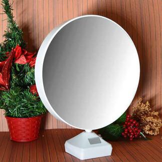 NobbyStar - Yuvarlak Led Sihirli Ayna Fotoğraf Çerçevesi (1)
