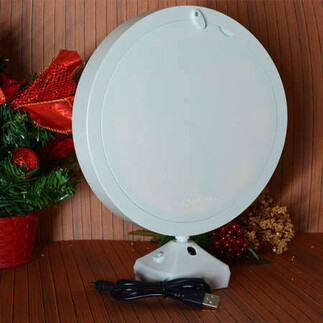 Yuvarlak Led Sihirli Ayna Çerçeve - Thumbnail