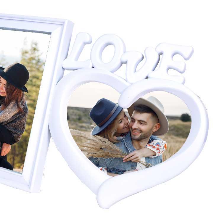 2'li Love Fotoğraf Çerçevesi